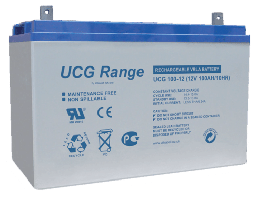Акумулатор UltraCell UCG 12V 100-275Ah GEL